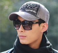 Free shipping 1 pcs 2014 new cotton breathable baseball cap Men spring and autumn Europe hat multicolor
