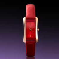 Women's watch red watch berze Women quartz watch ol fashion brief watch strap