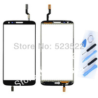 Black 100%  Original Replacement Touch Screen Digitizer for LG G2 D800 D8001 D8003 LS980 VS980 + Tools Free Shipping