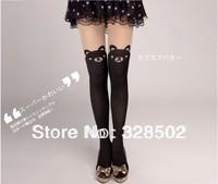 100pcs NEW 2014 Sexy Women Fashion harajuku bear Stockings Velvet High Patchwork Pantyhose Sexy Tights DHL FedEX Free Shipping