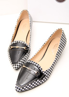 3 Colors ! 35-39 ! New Arrival Quality Patent Leather Pointed Toe 2014 Flats Women