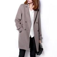 Fashion woolen suit overcoat outerwear yybs