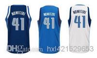 Free Shipping Werner Dallas TERRY Dirk Nowitzki Jersey Uniform New Stitched Vest Basketball original replica Shirt BP026