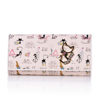 Kehr BETTY fashion betty boop wallet women's long design wallet lucky cat wallet Free shipping