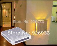 3 watt+4pcs/lot 110-220V  LED bedroom bedside lamp creative decorative colored backdrop lighting living room with bar stn01