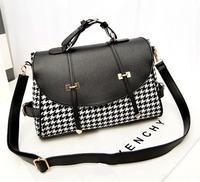 2014 women messenger bags leather handbags bags casual vintage bag one shoulder tassel handbag women's handbag