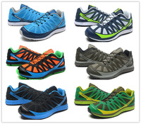 2014 new Salomon KALALAU mountain trail running shoes for men, cheap SOLOMON mens outdoor hiking shoes, free shipping 40-45