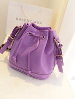 sac a main  fashion tassel bucket bag women's handbag messenger bag sweet water ripple women's bags