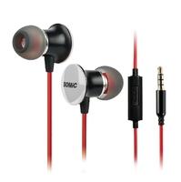 Original headphone High quality Somic Headphones MH-410I Mobilphone earphone with box Free shipping