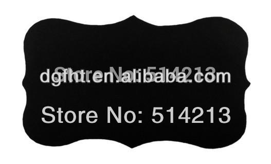 Rustic Blackboard Jar Labels - big label(China (Mainland))