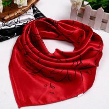 red silk scarf price