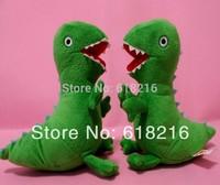 Free shipping 10PCS  22cm Peppa Pig Plush Toys George Pig Pet Green Dinosaur Soft Stuffed Plush Kids Toddler Toys  Gift #2966