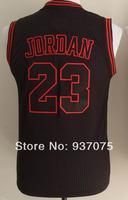 Michael Jordan jerseys #23 Commemorative Red white  Stitched Kids Derrick Rose #1Basketball Jersey Free Shipping