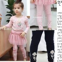 2014 New Arrival Sale Kids Leggings Baby Leggings Children's Clothing Winter All-match Trousers Female Child Culottes Legging