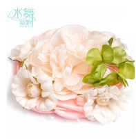 Free Shipping! 2014 New Fashion Bridal Large Artificial Flowers Hair Accessory Wedding Hair Jewelry TH310