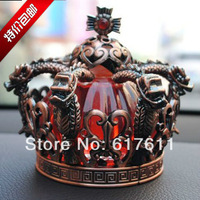 Bronze car perfume seat car perfume decoration supplies Block Crown perfume
