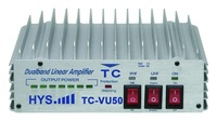 NEW powerful 136-174 and 400-480 MHz vhf & uhf Professional HF Amplifier TC-VU50
