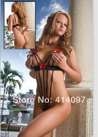 Freeshipping 2014 Sex Dress Set Blouses + T-Pants Sexy Lingerie Hot Ladies' Sexy Underwear