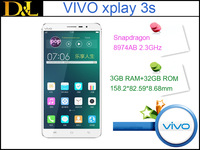 "Vivo Xplay 3S Quad-core Snapdragon 800 CPU 2.3GHz 3G RAM 32G ROM 6.0"" 2560X1440 13MP/5MP NFC 3G WCDMA 4G LTE Android 4.3"