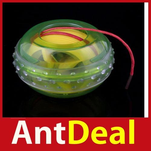 upgrade AntDeal LED Light Wrist Strength Exercise Massage Massager Ball High Quality classic(China (Mainland))