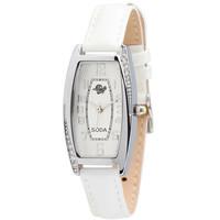 Free Shipping Women Quartz Leather Strap Watches Elegant Temperament Simple Rhinestone Casual Analog Relogio Wristwatches