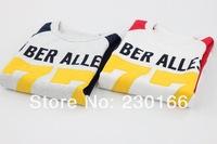Free Shipping 2014 Spring / Autumn Kids Long Sleeve T-Shirts Words Kids Bottoming T-shirts Cotton Children T-shirts K2014022