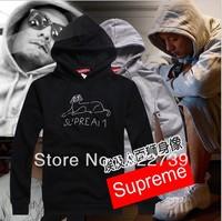 Autumn and Winter  Mens Brand Supreme Hip hop Sphinx print hoodies / sweatshirts hoodie / sweatshirt  for Men Freeshipping