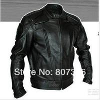 Free shipping men PU motorcycle jacket racing jacket motorcycle racing jacket all size available