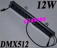 Free shipping sale 24V DMX512 12W wall light RGB 0.5 meter 500mm IP67 2 year warranty