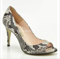 Free shipping Summer Women Pumps High Heels Open Toe Serpentine Women Sandals Women High Heel Shoes size 35-43 3815