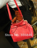 2014 hot sale newest fashion handbags casual pu bags with American and European style and fashion design with bow