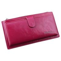 New 2014 fashion women wallets more screens clasp zipper purse
