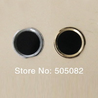 Replacement black Home Button With Metal Ring Repair Part for iPhone 4 4G Same Look as iPhone 5s + free shipping