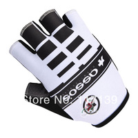 NEW! 2014 assos Team Red&White Cycling Half Finger Gloves/Cycling Wear/Cycling Clothing-assos-1S Free Shipping