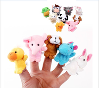 Placarders toys means even puppet toy lovely mini plush small animal 10