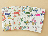New creative beautiful flower series notebook,diary ,useful stationery wholesale(SS-7495-3)