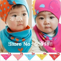 Baby Bibs Toddler Bandana Bibs Ultimate Dribble Bibs for Girls Fabric Cotton Bibs 10pcs K023