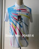 2014  Free shipping  New Butterfly shirt  Man's Badminton shirt /table tennis shirt only shirt
