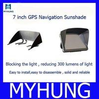 1pc 7 inch navigation sunshade gps navigation Sun shade / hood / sun hats