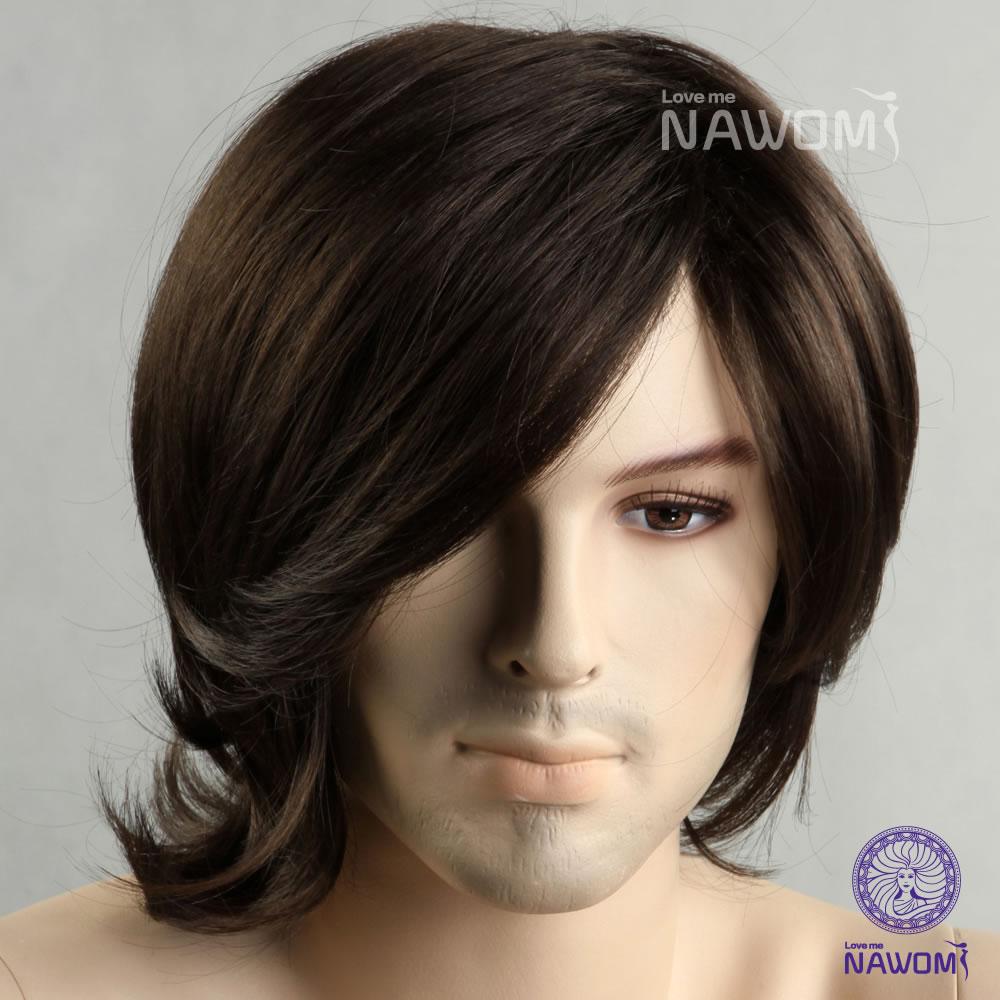 Mens Wigs Online Men Full Wigs/artistic Men