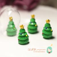 016 glass cover filler diy accessories bryophytes mini handmade christmas tree