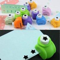 5PCS Free Shipping Kid Child Craft Tool DIY Printing Paper Shaper Punch Card Cutter Scrapbooking