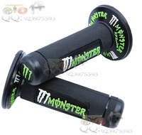 Motorcycle Tuning Parts motorcycle handlebar throttle grips moped faucet handle sleeve ghost grip handle plastic green and grips