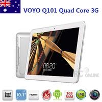 "10.1"" IPS VOYO Q101 MTK6589 Quad Core 3G Tablet PC 2GB/16GB Google Android 4.2"