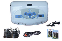 Free shipping DHL fast delivery 2 Person Foot Spa Machine With MP3 player Ion Cleanser Detox Machine Dual Detox Foot Spa Machine