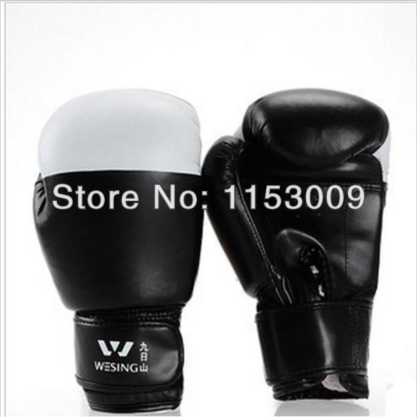 Free Shipping Adults High Quality PU Training Sandbag Fighting Thai Boxing Gloves Mitts Sanda Fists Lose Weight Fitness(China (Mainland))