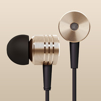 Top Quality 100% New XIAOMI Piston Earphone Headphone Headset Sliver,Gold with Mic for M3 MI2 MI2S MI2A M1S Phones Free Shipping