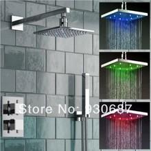 led shower set promotion
