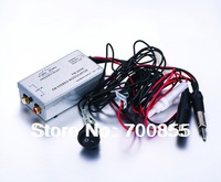 Factory Radio Stereo Wired FM Modulator RCA AUX Input Audio Adapter Converter