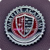 VAMPIRE ACADEMY SCHOOL BADGE/PIN/BROOCH DIMITRI/BLOOD SISTERS/DHAMPIR